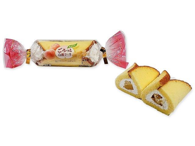 山崎 ごろっと白桃ケーキ