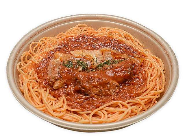 大盛り!ピリ辛トマトパスタ