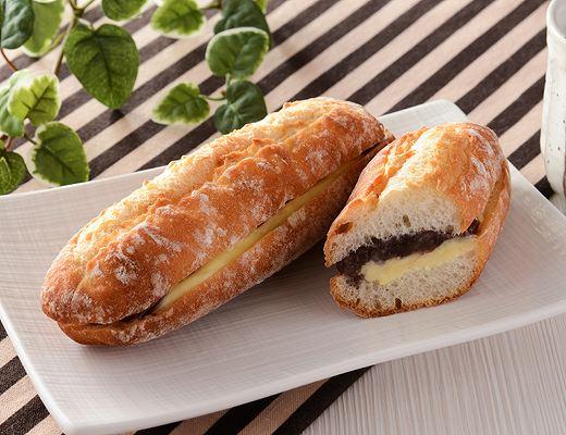 マチノパン あんことバターのフランスパン