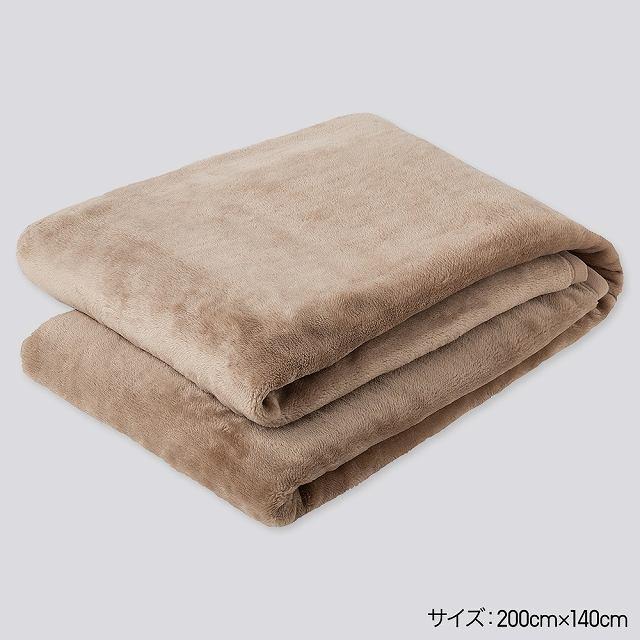 第1位:ヒートテック毛布