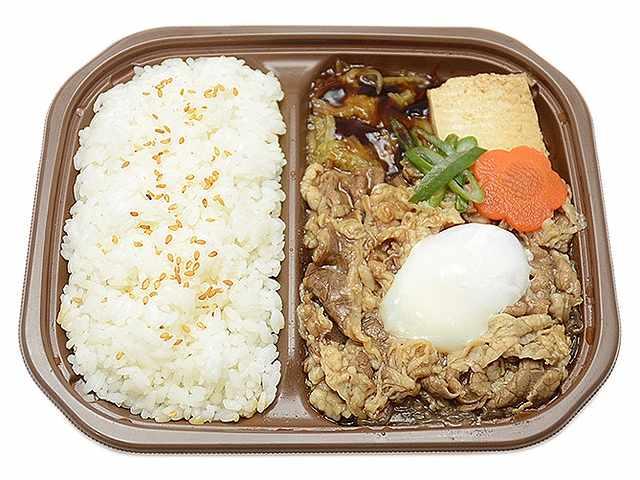 お肉たっぷり特製牛すき焼き弁当