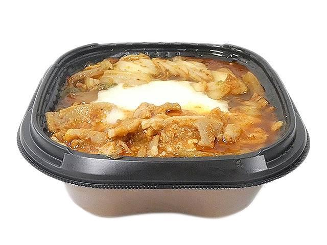 とろ~りチーズソースの豚キムチ丼