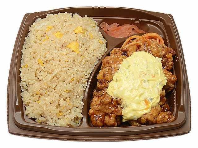 まんぷく!チャーハン&チキン南蛮弁当
