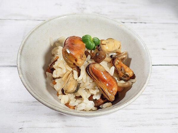 ムール貝炊き込みご飯