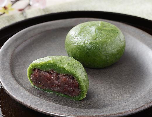 よもぎ香る草餅(つぶあん)