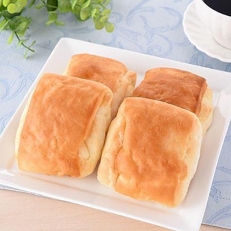 国産小麦の塩バターパン4個入