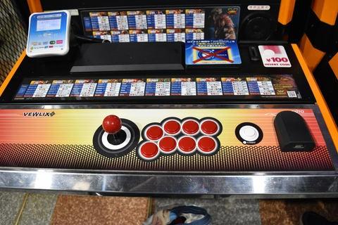 アーケードゲームの筐体
