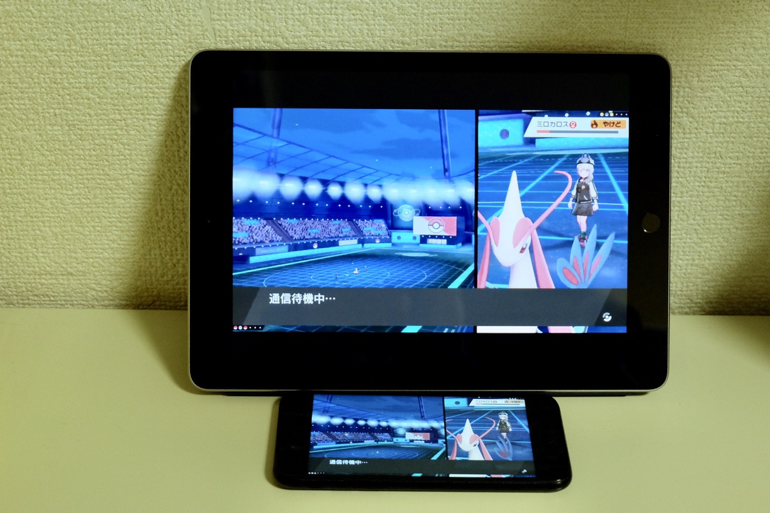 iPad2018年モデルとiPhone 7の比較