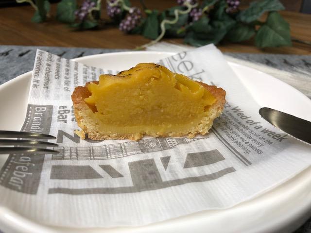 炙った安納芋ペーストが視覚からアプローチ