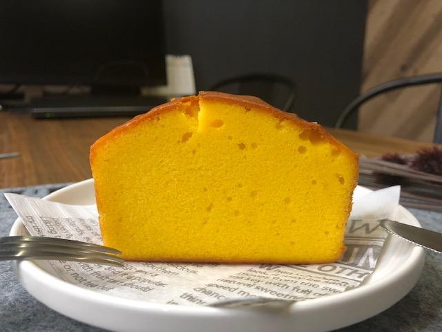 季節の移り変わりが感じられる安納芋のパウンドケーキ
