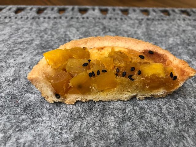 タルトのサクサク感と、安納芋のしっとりさが絶妙の食感