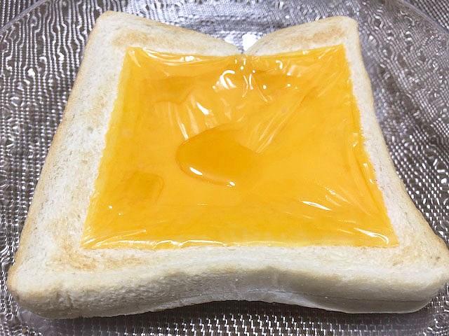 チーズとはちみつのトースト
