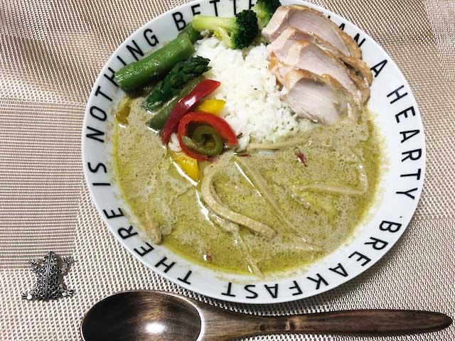 【業務スーパー】400g178円(2人分)グリーンカレーがボリュームたっぷり!美味しい本場タイの味?