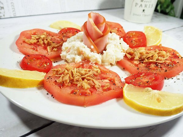 トマトカルパッチョ