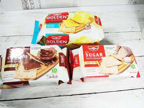 バター風味クリーム・チョコ・シュガークラッカー