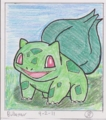 [Pokemon][Artwork][WiiGamer86]Bulbasaur
