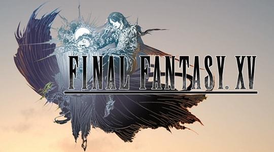 ff15のタイトルロゴ