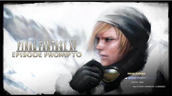 FF15エピソードプロンプト