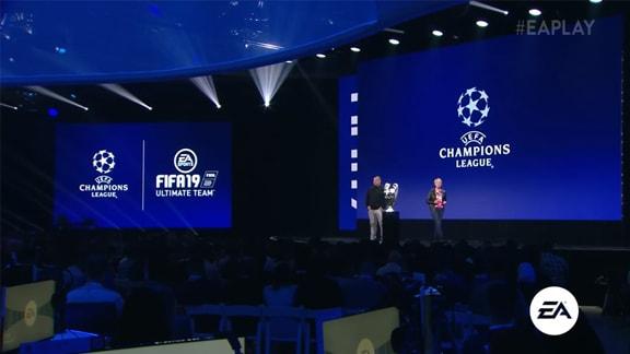 E3 2018年のEAブース