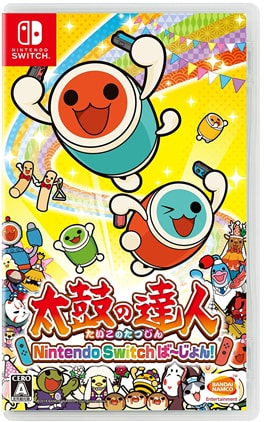 太鼓の達人 Nintendo Switchば~じょん!のパッケージ画像