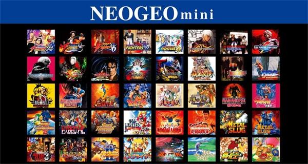 ネオジオの収録ゲーム