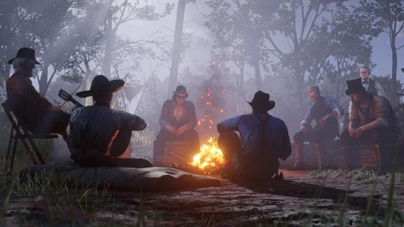 ダッチギャングのキャンプの画像