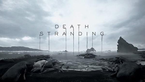 Death Strandingのタイトルロゴ