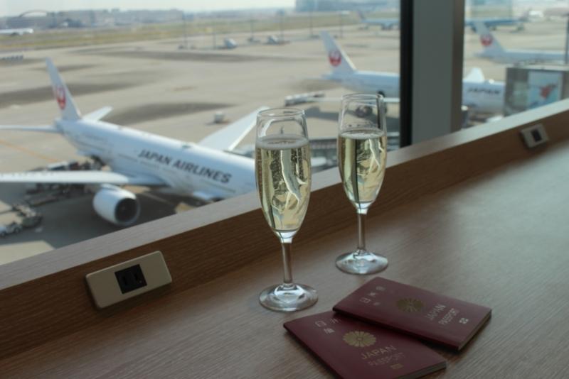 サクララウンジ・スカイビュー@羽田空港国際線旅客ターミナル