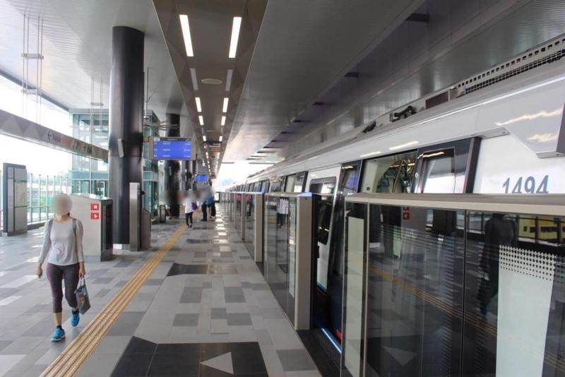 MRT(Muzium Nagara~Taman Mutiara)
