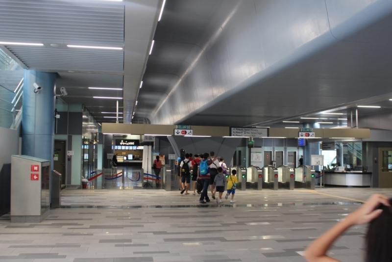 Taman Mutiara駅周辺