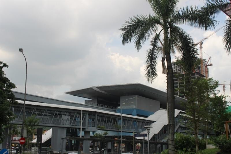MRT(Taman Mutiara~Muzium Nagara)