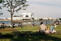 ペア限定ベンチ (横浜 像の鼻公園) Minolta SR-1 SUPERIA X-TRA 400