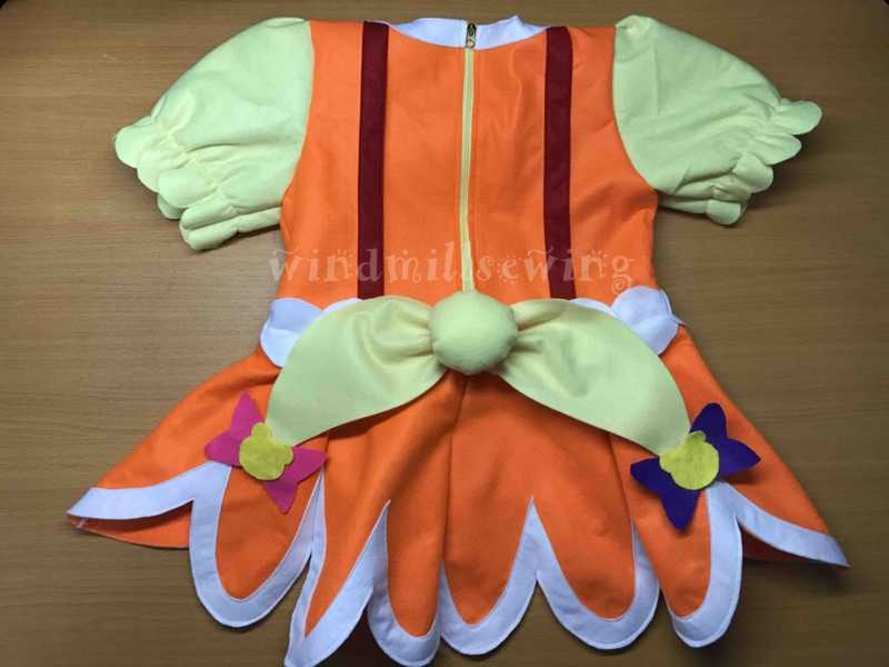 魔法使いプリキュア 奇跡の変身 手作り衣装 キュアモフルン