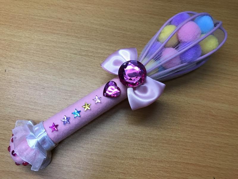 キラキラ☆プリキュアアラモード 手作り 衣装 サウンド泡立て器
