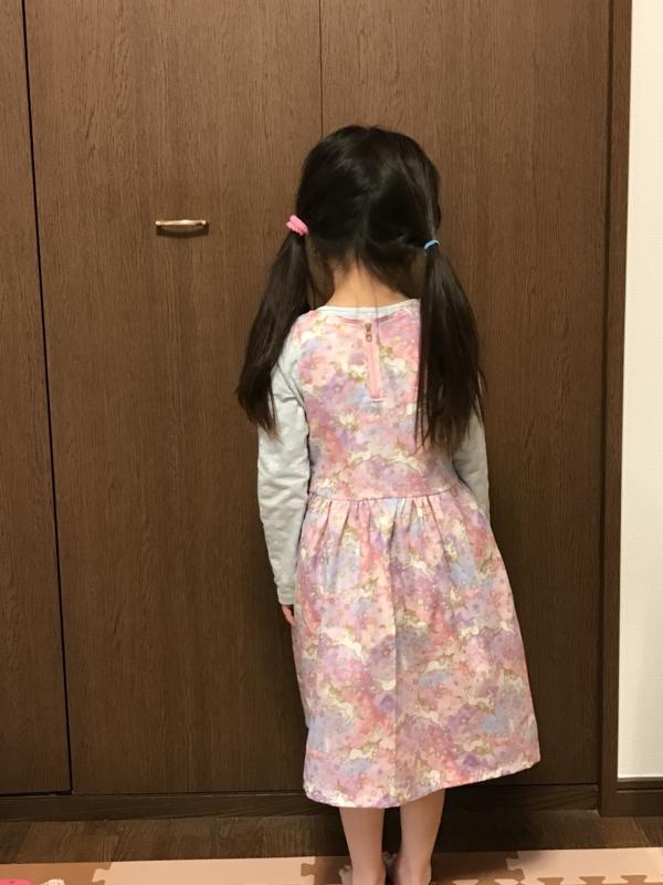 手作りH&M 子供服 ワンピース