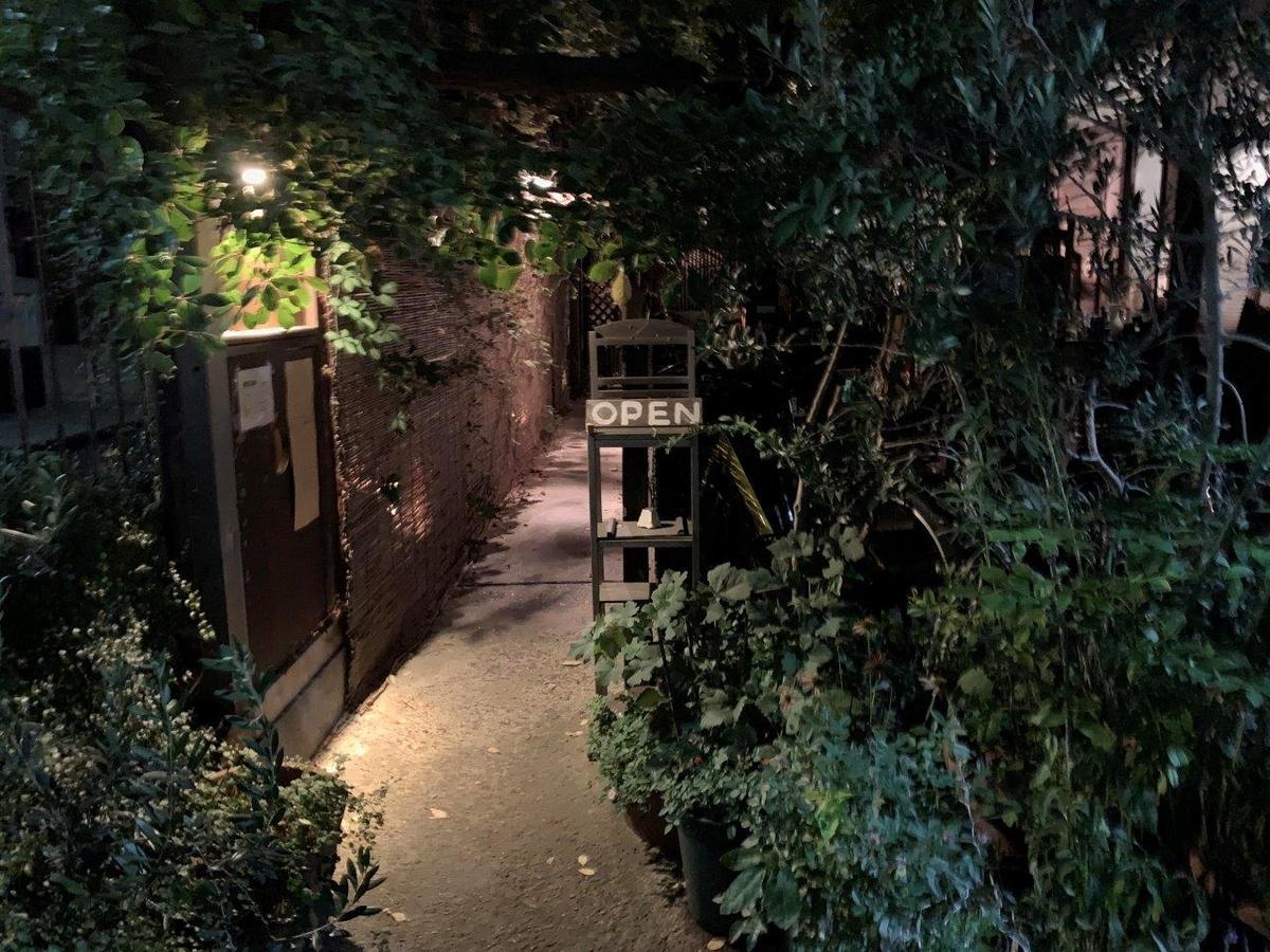 スパイスカフェ 入口