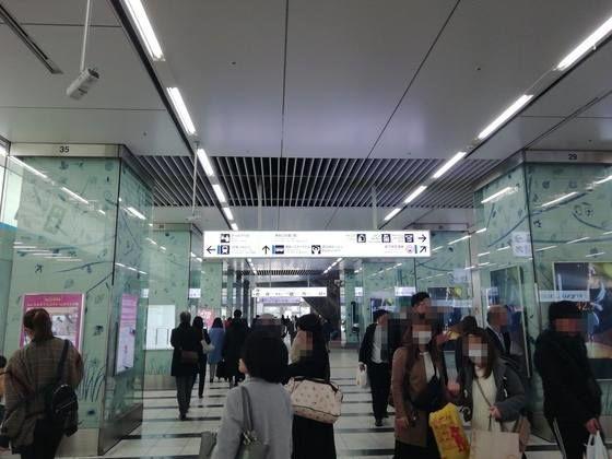 博多駅中央口 モトックスワールドワインフェスティバルへの行き方 博多口方面