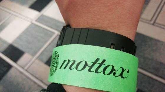 モトックスワールドワインフェスティバル リストバンド
