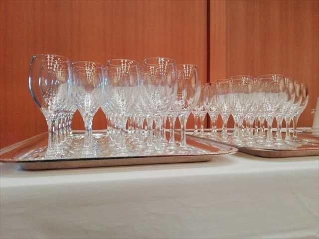 ホテルオークラ博多 オークラマルシェ ワイングラス