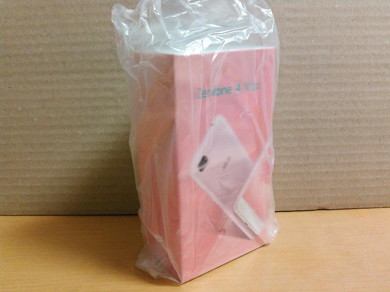 ZenFone 4 Max (ZC520KL)(ローズピンク)化粧箱