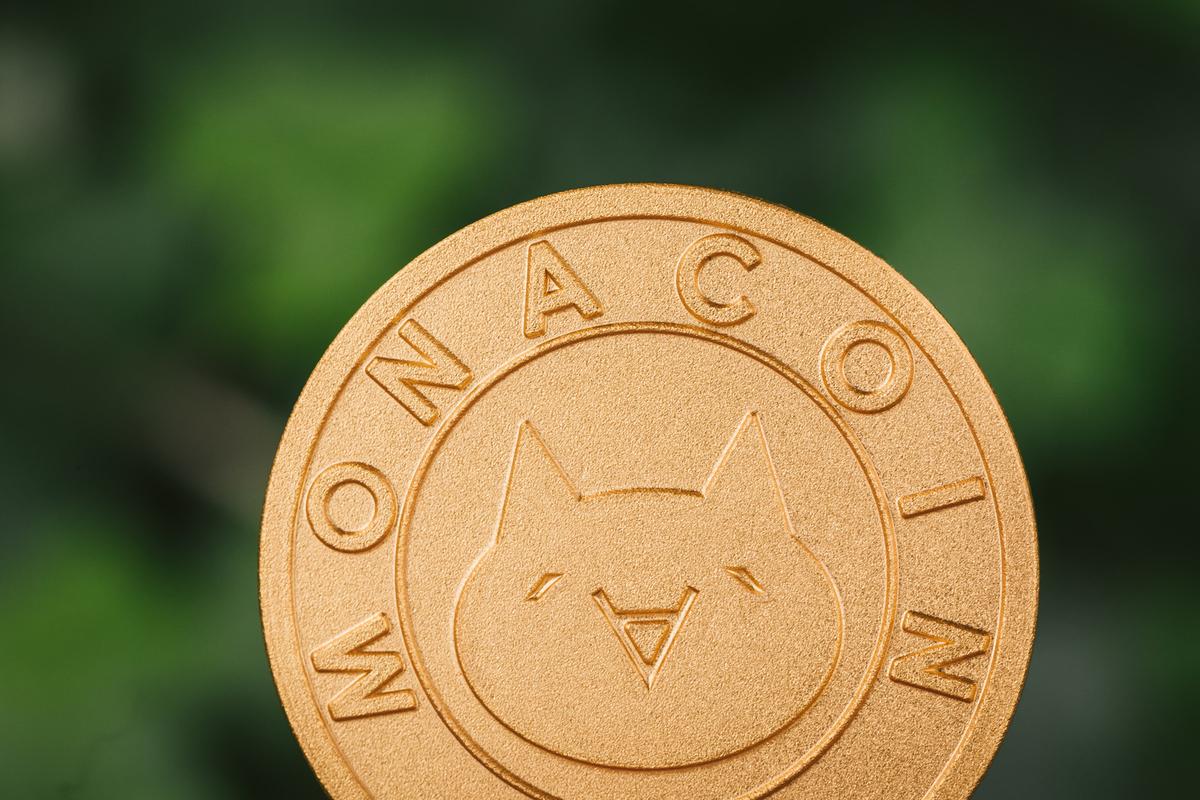 MonaCoin(モナコイン・MONA)のフリー画像(写真)