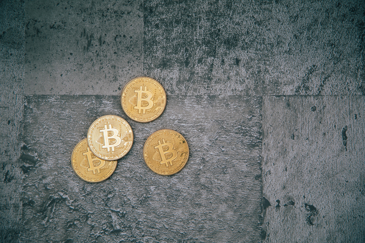 仮想通貨への不安視のフリー画像(写真)