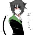 (○-○)<毎年猫耳つけてる気がする