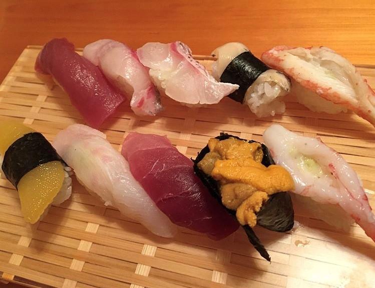 むつ市、天一のにぎり寿司上