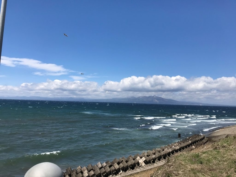 5月の空と海