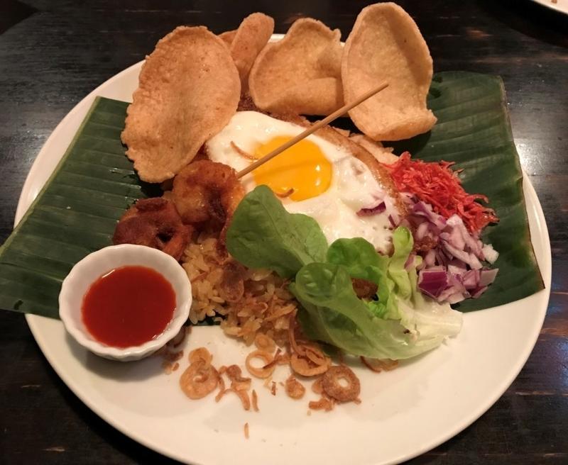 青森市サイゴンの南国料理、ナシゴレン