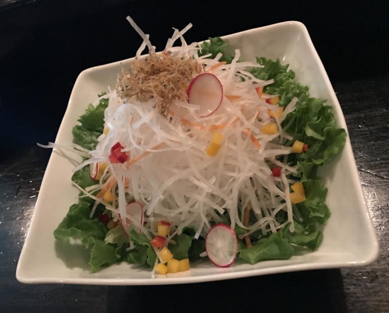 むつ市、乃々の野菜サラダ