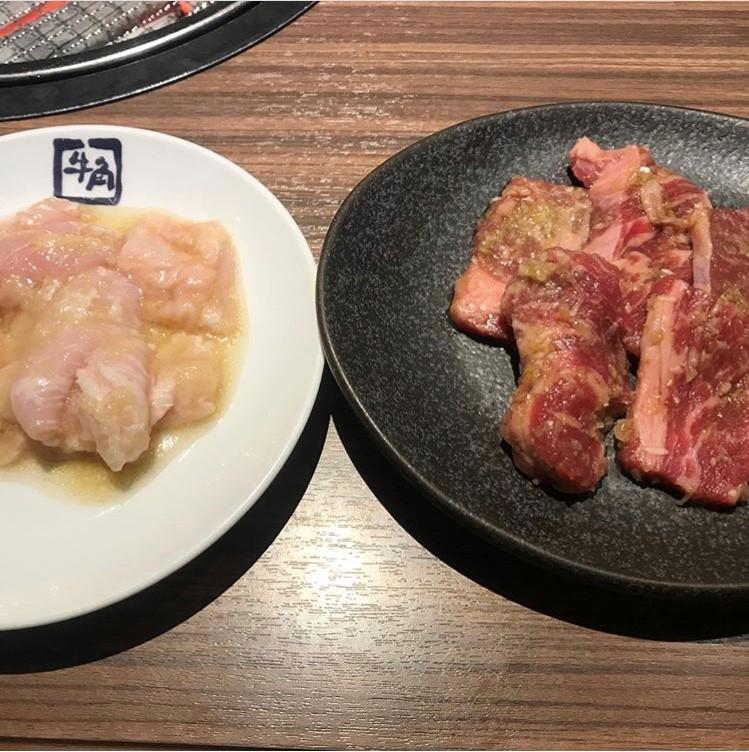 牛角の焼き肉