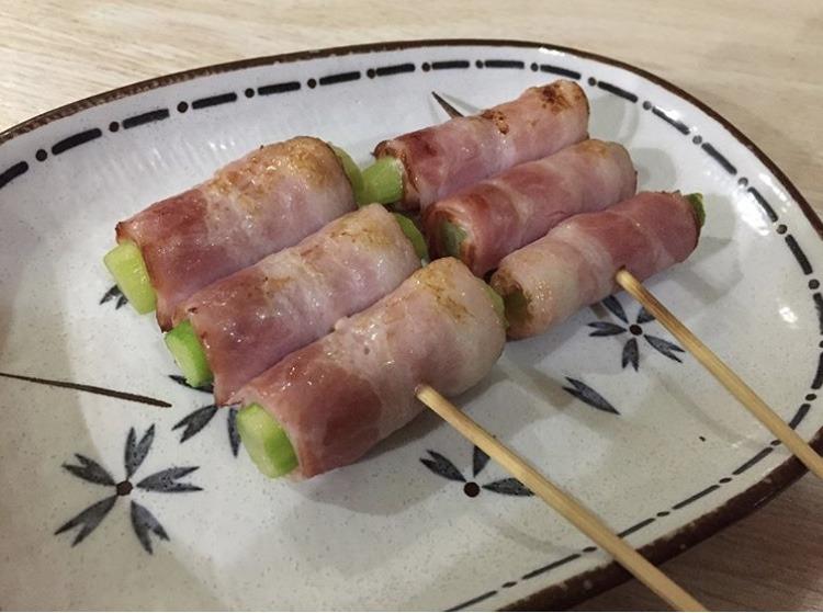 むつ市サライの串焼き