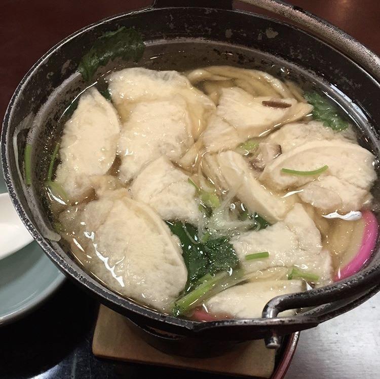 八戸市のせんべい鍋